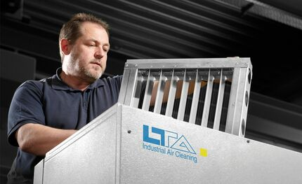 Fire protection and LTA air filters